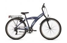 """BikeFun Camouflage 24"""" Marineblauw"""