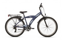 """BikeFun Camouflage 20"""" Marineblauw"""