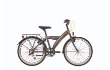 """BikeFun Competition 26"""" Grijs/Geel"""