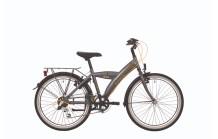 """BikeFun Competition 24"""" Grijs/Geel"""