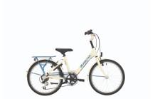 "BikeFun GRLPWR 24"" Creme/Blauw"