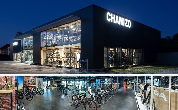 Chamizo Fietsen, meer dan 3000m2 showroom