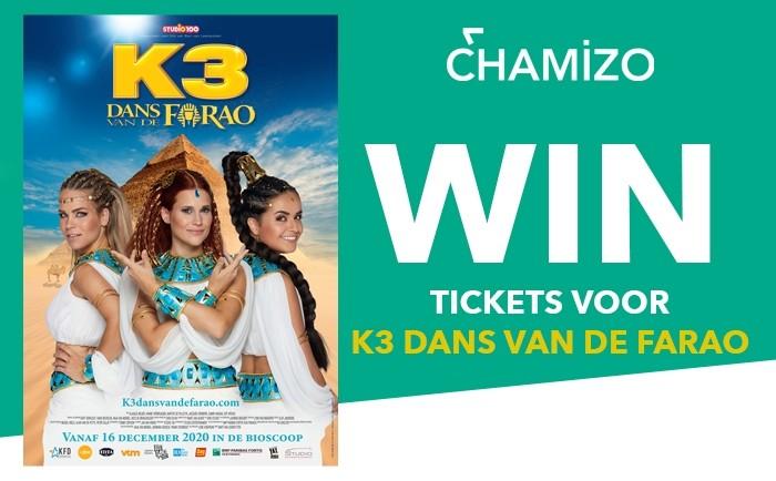 Win tickets voor K3